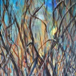 P1414,-Amazing-Underbrush,-acrylic-on-canvas,-48x36-in.
